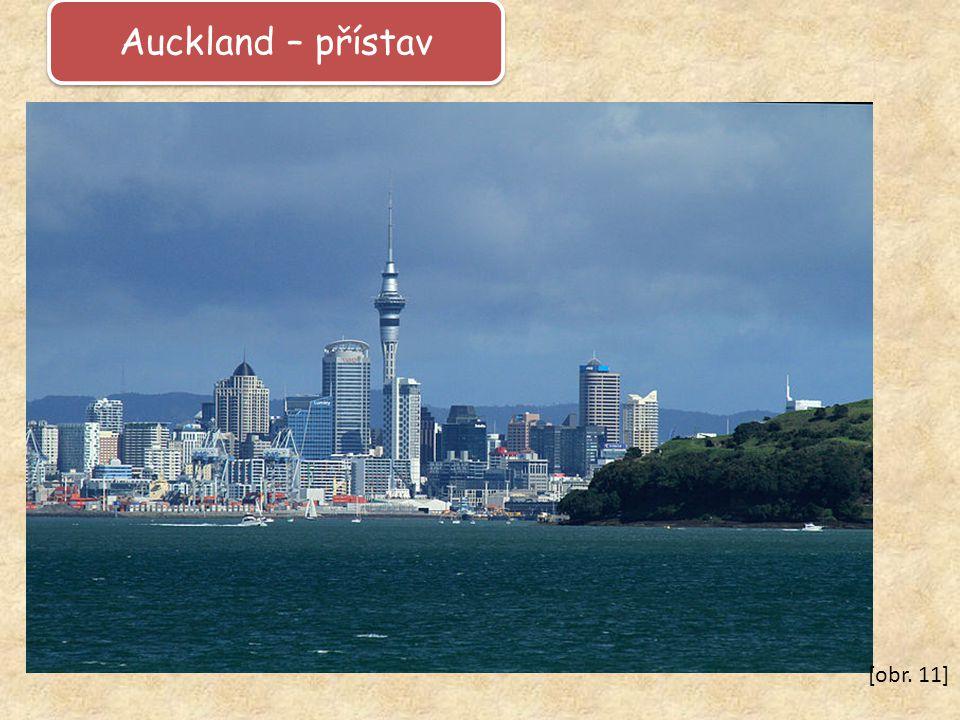 Auckland – přístav [obr. 11]